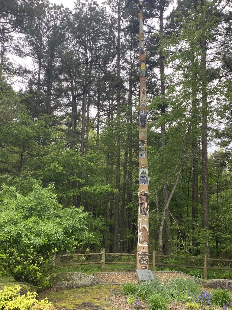Fairfield Bay Main Entrance Totem Pole
